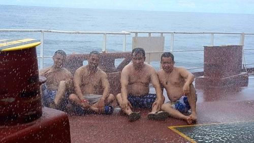 Nord Explorer cooling off