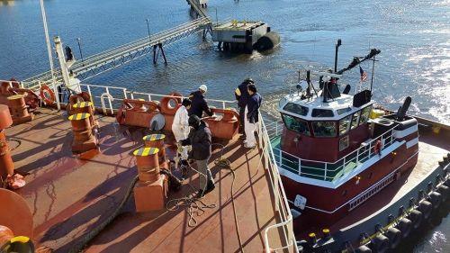 Nord Explorer, tie up in Norfolk:Philly
