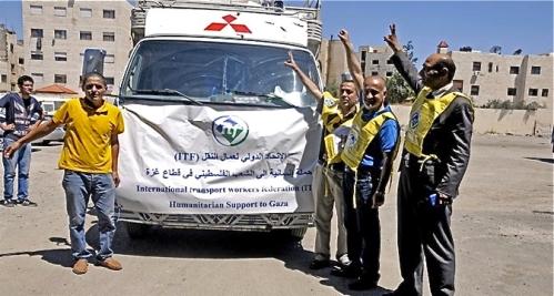 Gaza humanitarian relief ITF